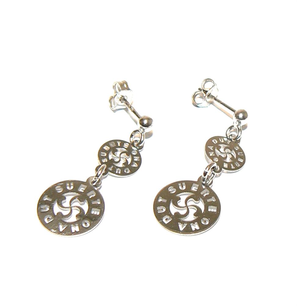 boucles d 39 oreilles pendantes bijoux basques rodon. Black Bedroom Furniture Sets. Home Design Ideas