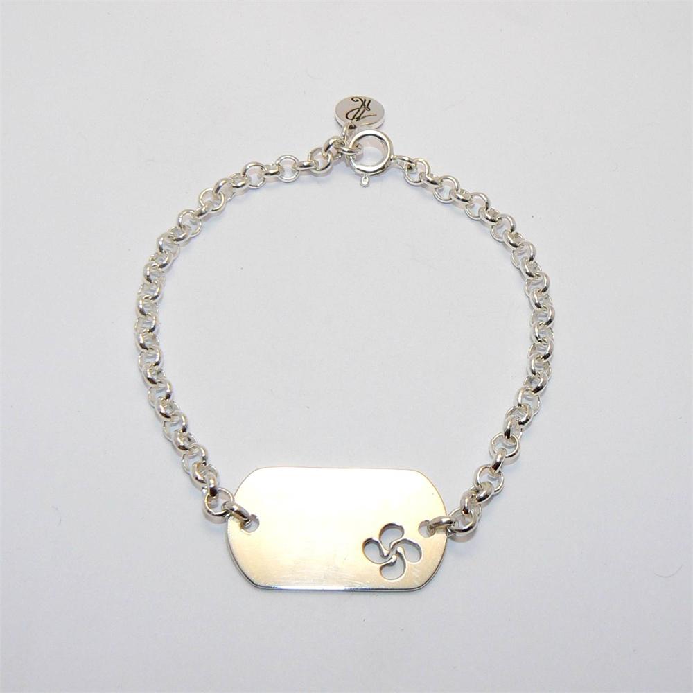 bracelet basque graver bijoux basques rodon. Black Bedroom Furniture Sets. Home Design Ideas