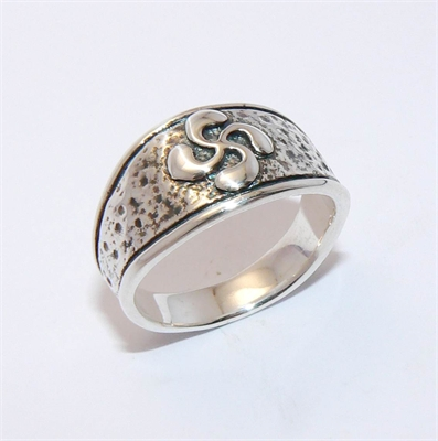 BAGUE BASQUE MARTELEE
