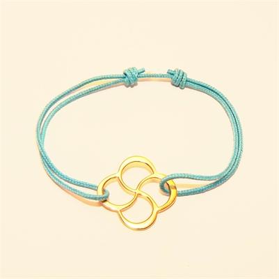Bracelet Txala bleue