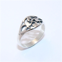 BAGUE BASQUE CISELEE