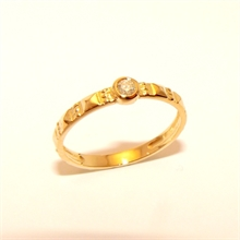 Bague Or Cloud Diamant