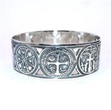 Bracelet Jonc Rigide Stèle Basque