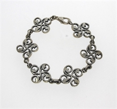 BRACELET BASQUE CROIX STYLISEE