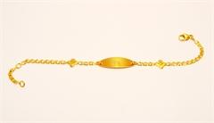 Bracelet gourmette Bébé
