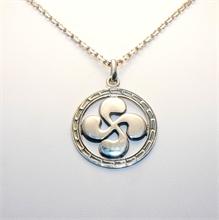 Médaille Basque Alpha