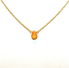 COLLIER QUARTZ ORANGE