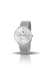 MONTRE LIP PANORAMIC CLASSIC CHROME MILANESE