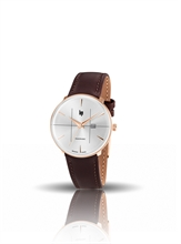 MONTRE LIP PANORAMIC CLASSIC CUIR GOLD