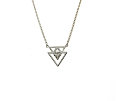 COLLIER TRIANGLE CROIX