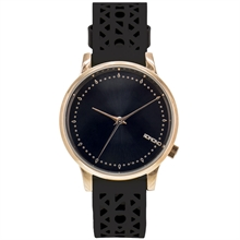 MONTRE KOMONO ESTELLE CUTOUT BLACK ROSE KOM-W2651