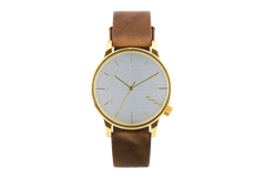 MONTRE KOMONO WINSTON REGAL SADDLE BROWN KOM-W2254